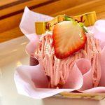 苺モンブラン